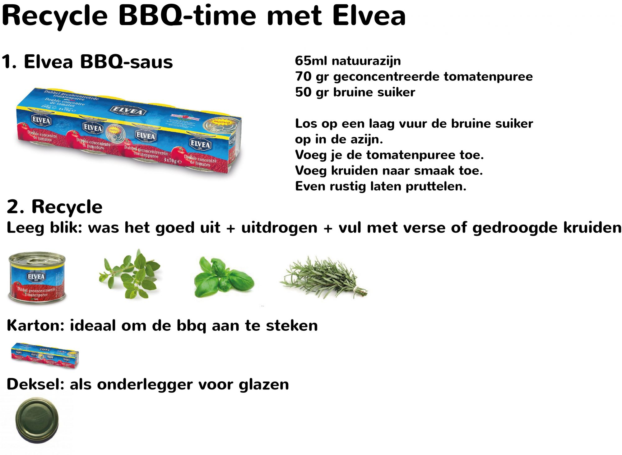 Recycle BBQ-time met Elvea