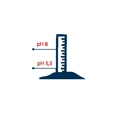 Pour obtenir une belle récolte, il faut que le degré d'acidité de la terre soit situé entre 5,5 à 8 pH.